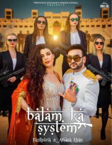 Balam Ka System Song Cast & Female Model Name