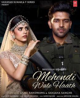 Mehendi Wale Haath Song Cast & Female Model Name