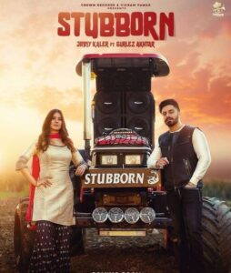 STUBBORN Song Cast & Female Model Name